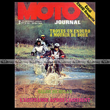 MOTO JOURNAL N°145 HARLEY-DAVIDSON 250 MICHEL ROUGERIE ENDURO DE TROYES '73