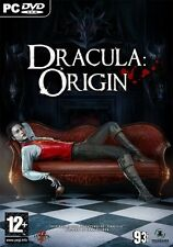 DRACULA ORIGIN for (PC DVD) SEALED NEW