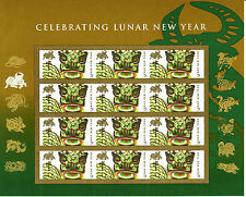 CHINESE NEW YEAR STAMP SHEET -- USA, #4375 42 CENT 2009 YEAR OF THE OX