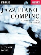 Jazz Piano Comping : Harmonies, Voicings, and Grooves by Suzanne Davis (2012,...
