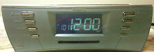 Timex Multi-Directional Sound RAINBOW LED Alarm Clock Radio T439S MP3 Jack NICE!