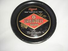 RARE, VINTAGE GRAIN BELT BEERS TIP TRAY IN VERY GOOD CONDITION