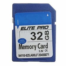 TARJETA DE MEMORIA MEMORY CARD SD 32 GB CLASE 4 PARA DIGITAL CAMARA CAMERA NO 64