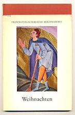 W Weihnachten frühmittelalterliche farbige ottonische Buchmalerei erl. Asmussen