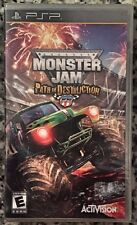 Monster Jam: Path of Destruction (PSP, 2010) BRAND NEW SEALED - FREE U.S. SHIP