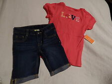 NWT 5 5T GYMBOREE BLOOMING NAUTICAL TOP & SHORTS