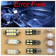 LED White 12 Canbus Error Free SMD Interior Kit VW MK5 MKV GOLF