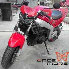Dirt Bike Headlight Motocross Motorcycle Red For Honda Streetfighter Supermoto