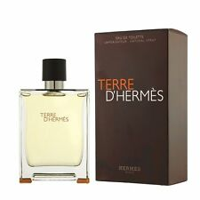 Terre D'hermes by Hermes for Men Eau De Toilette 3.3 OZ 100 ML Spray