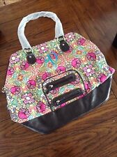 Initials ink, multi colored bag, with the letter 'D'