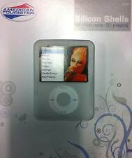 New American Tourister Silicone Shell Case for iPod Nano 3G players - Clear