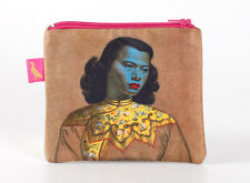 Tretchikoff Chinese Girl Coin Purse New with Tags Blue Lady Green Lady