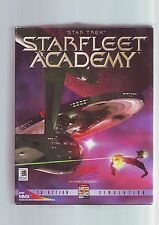 Star trek starfleet academy-pc game-original rare big box