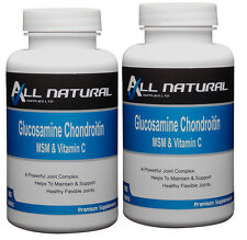 Glucosamine Chondroitin MSM and Vitamin C 360 Tablets Excellent Value