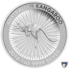 2016 1 oz Australian Silver Kangaroo (BU) - SKU 0040