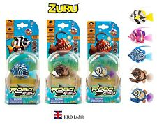 GENUINE ZURU DEEP SEA Robo Fish Robotic Random Design Pet Kids Birthday Gift NEW