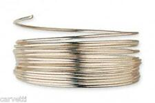 12K Gold Filled 20 Gauge Half Hard Round Wrapping Wire 5 Feet Made in the U.S.A.