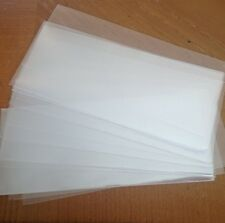 """10 New Plastic Money Holders 3"""" x 7"""" Sleeves for USA Bills and Worldwide Notes"""