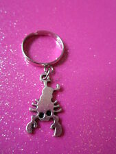 Adjustable Lobster Charm Dangle Ring
