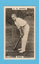 CRICKET - PHILLIPS - RARE CRICKET CARD -  H.  M.  MORRIS  OF  ESSEX  -  1924