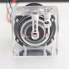 Olike3C acrylic GAP 1/4G  high flow for D5 pump water Cooling !no pump