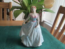 "ROYAL DOULTON FAITH HN4151 FIGURE   8"" HIGH"