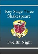 KS3 English Shakespeare Text Guide - Twelfth Night by CGP Books (Paperback,...
