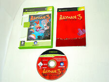 RAYMAN 3 HOODLUM HAVOC complete in box with manual Xbox videogame PAL