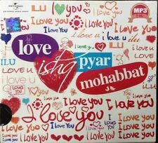 Love Ishq Pyar Mohabbat - Original Hindi Love Songs MP3 CD