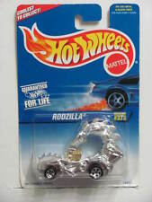 HOT WHEELS 1997 SILVER SERIES RODZILLA #323  CHROME 5 SP WHEELS