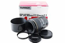 Tamron SP 90mm f/2.8 90 72E AF Macro For Canon Excellent++ Free Ship 154878