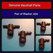12782509/508 Genuine Vauxhall Insignia Windscreen Washer Jets (Pair) Mist
