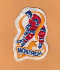 OLD MONTREAL PLAYER JERSEY PATCH CANADIENS Unsold Stock
