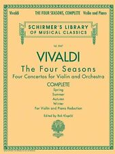 Antonio Vivaldi - The Four Seasons, Complete: for Violin and Piano Reduction by