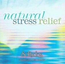 Natural Stress Relief by Dan Gibson (CD, Jun-2008, Solitudes)-NEW and Sealed!