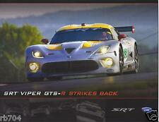 2013 12 Hours of Sebring ALMS SRT VIPER GTS-R  Hero Card Tommy Kendall