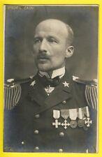cpa Phot Amiral UMBERTO CAGNI Regia Marina Italiana alpinista esploratore polare