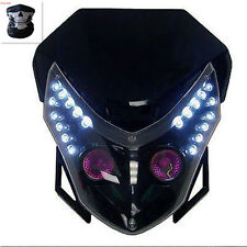 Streetfighter Street fighter Head Light Headlight Motorcycle Bike Dual Sport