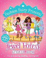 Jewel Forest Sticker Book (Fashion Fairy Princess), Collins, Poppy, New conditio
