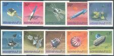 Manama 1968 ** Mi.87/96 B Weltraum Space Luna Explorer Raumsonden
