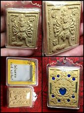 Genuine Lp Im Wat Bangkhaokhat Mae Yotmuong Bring Connection Temple Thai Amulet