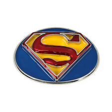 Classic 3D Superman Belt Buckle Heavy Metal Comics Superhero Movie Logo Mens New