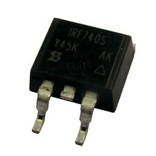 2 IRF740S Vishay Siliconix MOSFET Transistor 400V 10A 125W 0,55R D²Pak 854206