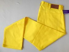 Purple Label Ralph Lauren Jeans Pants 40 Actual: 41 x 35 YELLOW ITALY NWT$495
