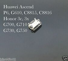 Huawei Ascend P6 G610 G700 C8815 Honor 3C 3X Micro USB Charging Port Connector