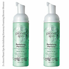 2 x Avon Planet Spa Revitalising Harmony Foaming Shower Mousse 150ml (RRP£10 Gel