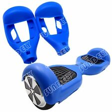 "Hi-Q Blue Silikon Cover Schutzhülle For 6.5"" Hoverboard Balance Scooter 2 Wheels"