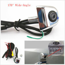 Car SUV Rearview Backup Reverse Parking License Screw Mini 170°Wide Angle Camera