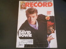 David Bowie, Tina Turner, Yoko Ono, Twisted Sister - Record Magazine 1984
