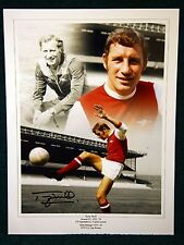 Terry Neill Signed Arsenal Photograph